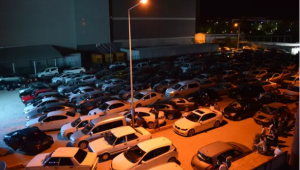Elazığ'da 'arabalı sinema' etkinliği
