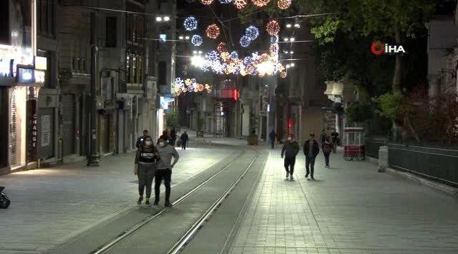 İstanbul'da bayramı da kapsayan 4 günlük sokağa çıkma kısıtlaması başladı