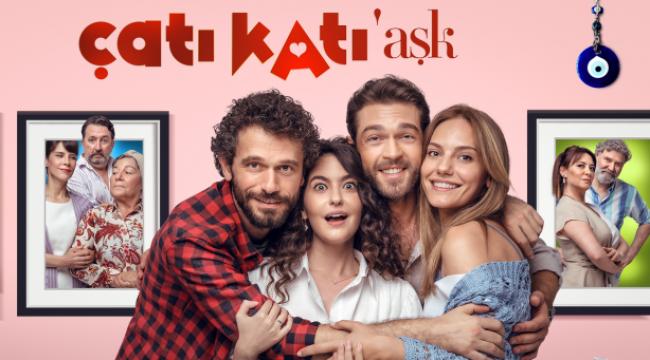 """""""Çatı Katı Aşk""""ın üçüncü afişi de görücüye çıktı"""