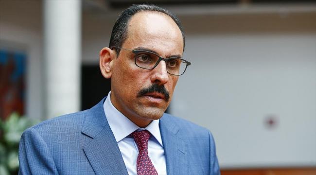 Cumhurbaşkanlığı Sözcüsü Kalın: Libya'da çözüm askeri değil, siyasi olmalı