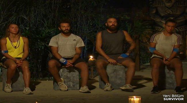 Survivor'da kim elendi? Mavi takımdan elenen ismi Acun açıkladı!