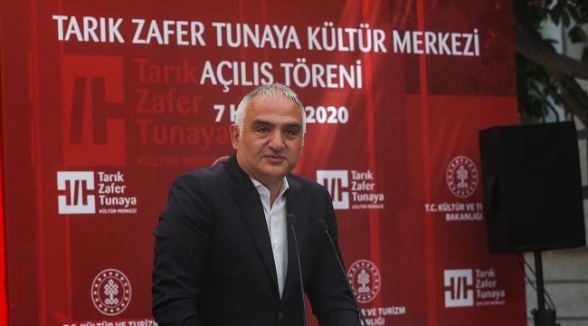 Tarık Zafer Tunaya Kültür Merkezi açıldı