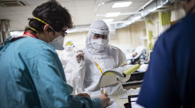 Türkiye'de Kovid-19 tespit edilenlerden 180 bin 680'i iyileşti