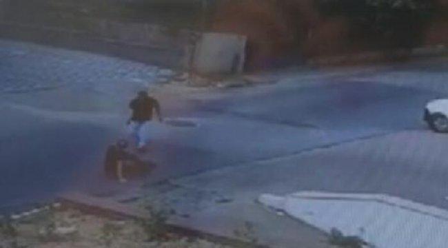 Silah tutukluk yapınca ölümden kurtuldu! Sokak ortasındaki dehşet anları kamerada