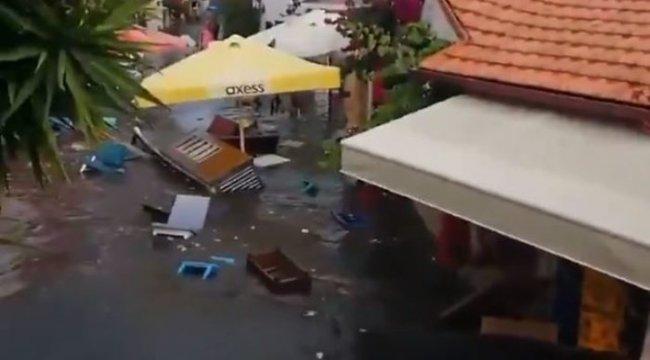 Deniz seviyesi yükseldi... İzmir depreminde tsunami mi oldu? Tsunami nedir? Seferihisar'da deniz seviyesi yükseldi!