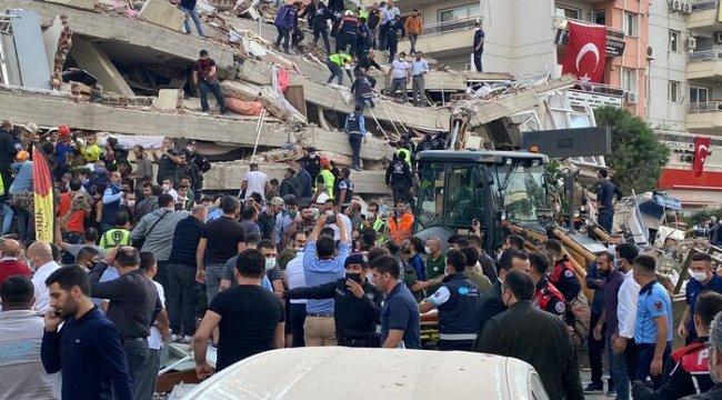 MSB'den İzmir depremine ilişkin açıklama: Kriz masası oluşturuldu