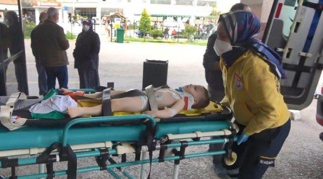 Balkondan düşen 2 yaşındaki bebek yaralandı